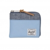 Herschel Johnny Wallet - Hydrangea / Dark Chambray Crosshatch / RFID