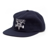 Thrasher Skategoat Wool Blend Snapback - Navy / White