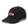 Thrasher x HUF TDS Black 6-Panel Hat - Black