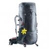 DEUTER Aircontact Lite 45+10 SL - Graphite Black
