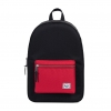 Herschel Settlement Backpack - Black / Scarlet