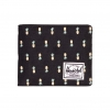 Herschel Roy Wallet - Black Pineapple / Embroidery / RFID