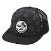 Vans Surf Patch Trucker Hat - Tonal Palm Black