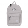 Herschel Heritage Backpack - Light Grey Crosshatch / White
