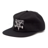 Thrasher Skategoat Wool Blend Snapback - Black / White