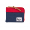Herschel Johnny Wallet - Navy / Red / RFID