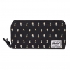 Herschel Thomas Wallet - Black Pineapple / RFID - Embroidery Collection