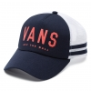 Vans OL Sport Baseball Trucker Hat - Crown Blue Georgia Peach