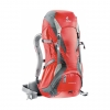 DEUTER Futura 32 fire-granite (red-grey)