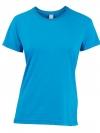 Quechua T-Shirt เดินป่า สำหรับผู้หญิง - Blue