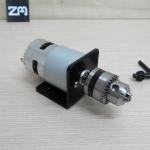 Mini Drill 775 Motor Electric 6-24 V 10000 RPM 3.5A + B10 drill chuck + bracket