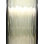 เส้นพลาสติก PLA สีขาวโปล่งแสง 1.75mm/1 kg (ยาว 350m)