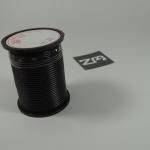 สีดำ สายไฟอ่อน 18 AWG (แบ่งขายช่วงละเมตร)