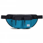 Herschel Eighteen Hip Pack - Ocean Depths Grid/Black