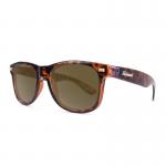 Knockaround Fort Knocks Sunglasses - Tortoise Shell / Amber