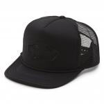 Vans Classic Patch Trucker Hat - Black / Black