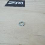 แหวนสปิงขาว 5mm (25ตัว/ถุง)