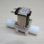 Solenoid Valve Magnetic 12Vdc N/C Flow Switch 1/2""