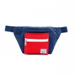 Herschel Seventeen Hip Pack - Navy/Red