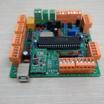 4 Axis USB CNC Controller Interface Board MK1 MACH3