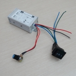 PWM DC Motor Speed Controller 1200W 9V-60V 20A