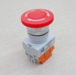 LAY37-11ZS Emergency Stop Push Button Switch Mushroom Y090 600V 10A