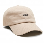 OBEY Jumble Bar Hat - Khaki