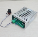 PWM Power supply สำหรับ spindle motor DC 50W-500W ปรับค่า 0-100VDC input AC 220V