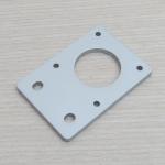 Aluminum Plate (white) Nema17 Stepper Motor Bracket Thickness 4mm