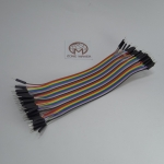 20cm Cable jumper 40P Male-Male (ผู้-ผู้)