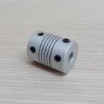 Flexible Coupling / Shaft Couplings 5 x 10mm D19 L25 mm