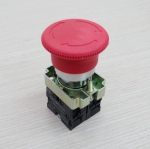 XB2-BS545 Contact Twist Reset Emergency Stop Push Button Switch 22mm 1NC/1NO