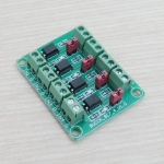 PC817 3.6-30V 4 Channel Optocoupler Isolation Board Voltage Converter Adapter Module