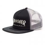 Thrasher Logo Mesh Cap - Gray