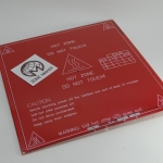 214 x 214 mm MK2B Dual Power PCB Heat Bed (Red) / Hot Plate 3D Printer