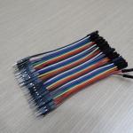 10cm Cable jumper 40P Male-Male (ผู้-เมีย)