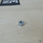 หัวน็อตมิลขาว 3mm (25ตัว/ถุง)