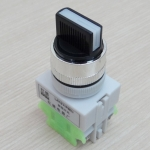 LAY37-20X3 660V 10A 3-Position Industrial Selector Rotary Switch ON-OFF-ON