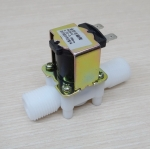 "24Vdc Solenoid Valve Magnetic N/C Flow Switch 1/2"""