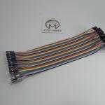 20cm Cable jumper 40P Male-Female (ผู้-เมีย)