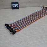 30cm Cable jumper 40P Male-Male (ผู้-ผู้)