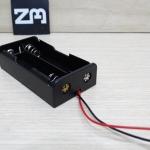 รางถ่าน Li-ion Battery 18650 แบบ 2 ก้อน 7.4V