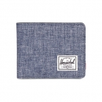 Herschel Roy Wallet - Dark Chambray Crosshatch