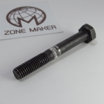 Wade's extruder hobbed bolt M8 wire feed teeth space 1mm for 1.75mm Filament