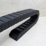 15 X 30 mm Cable Drag Chain CHL ยาว 1M เปิดฝาวางสายได้ และ End Fits หัวท้าย