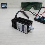 500mw 12V Blue Laser Module Engraving 405nm + TTL Drive Control