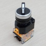 LAY38-11X2 380V 10A 2-Position Industrial Selector Rotary Switch ON-OFF