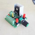 บอร์ดควบคุมความเร็วและทิศทางการหมุน Stepper motor (ตัวสัญญาณควบคุม)