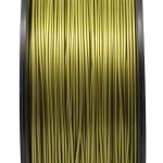 เส้นพลาสติก PLA สีทองเขียว 1.75mm/1 kg (ยาว 350m)