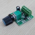 PWM DC Motor Speed Controller 30W 1.8V-15V 0-2A